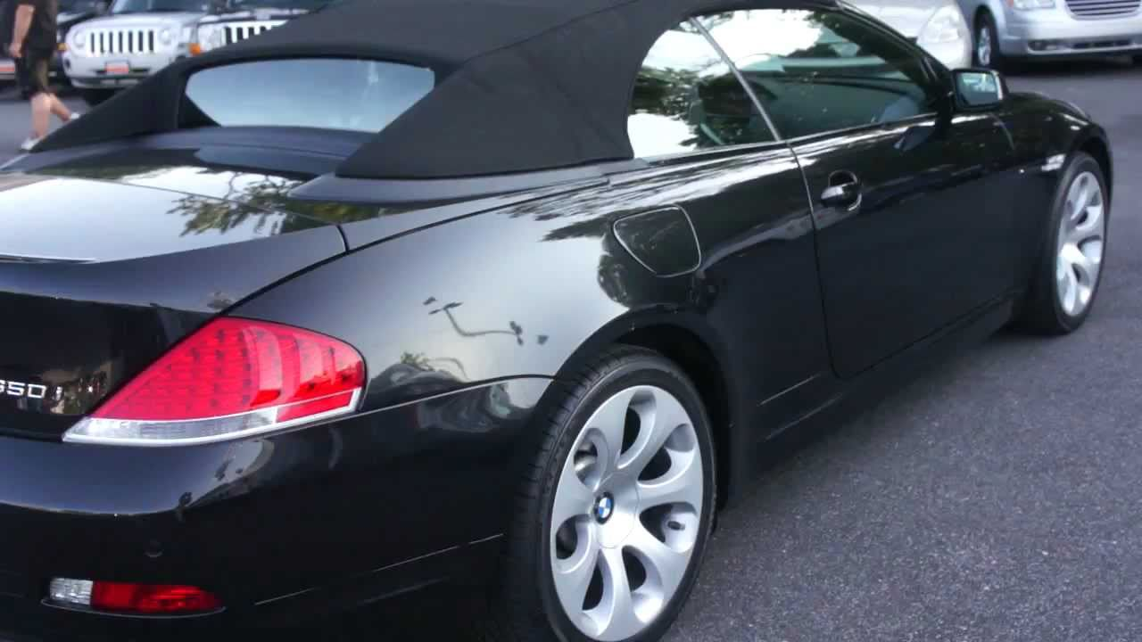 SOLD2007 BMW 650i Convertible For Sale  YouTube