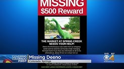 $500 Reward For Dinosaur Sculpture Stolen From Colorado Springs Business