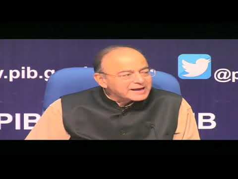 FM Arun Jaitley addresses the press on World Bank's Doing Business Report 2018 - 31.10.2017
