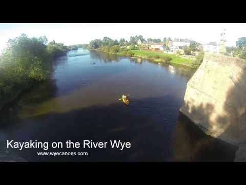 Kayaking on the River Wye