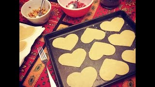 Homemade Valentines Day Pop 'Hearts': Tarts with Heart