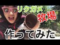 リクガメの牧場作ってみた! の動画、YouTube動画。