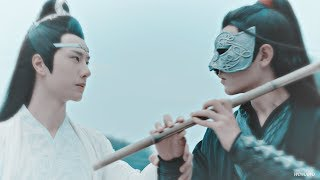 wei wu xian & lan wang ji (the untamed MV) | they don't know about us