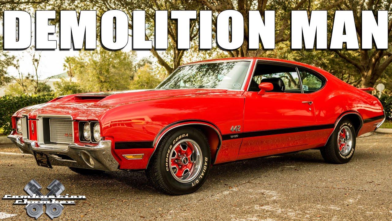 demolition man 1972 oldsmobile 442 youtube