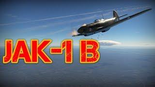 War Thunder - Myśliwiec Jak-1B - Bitwy Realistyczne (Zagrajmy PL Gameplay)