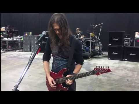 rehearsals 2017 dystopia world tour megadeth youtube. Black Bedroom Furniture Sets. Home Design Ideas