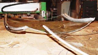 Витрина: Загнутое безопасное стекло (триплекс и моллирование)(1:44 - мойка стекла после моллирования; 2:22 - укладка пленки EVA; 3:47 - укладка на силиконовое полотно, герметизаци..., 2016-02-02T04:42:39.000Z)