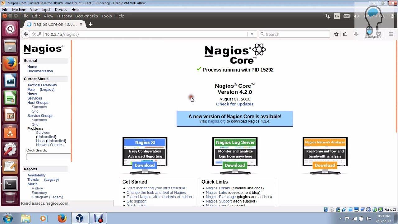 nagios pour ubuntu gratuit
