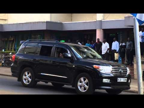 Kisumu city welcomes president Kenyatta