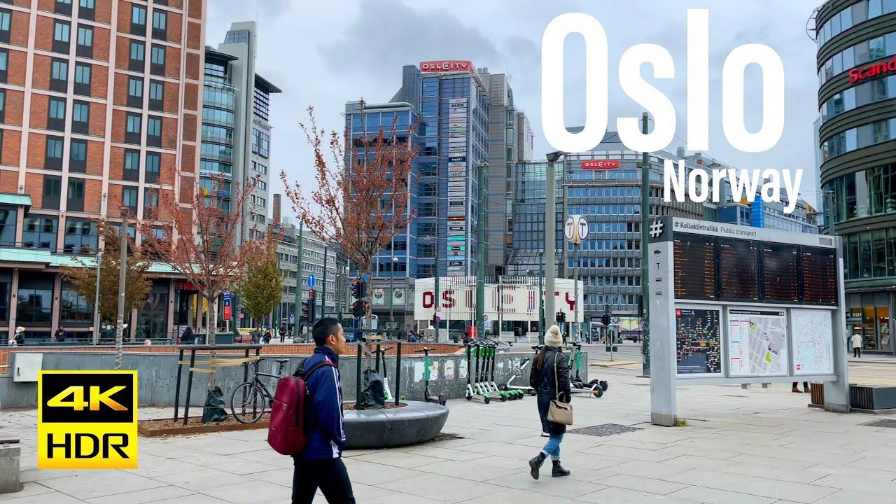 Download Oslo Norway, 4K 60FPS-HDR Walking Tour - 2021 - Tourister Tours