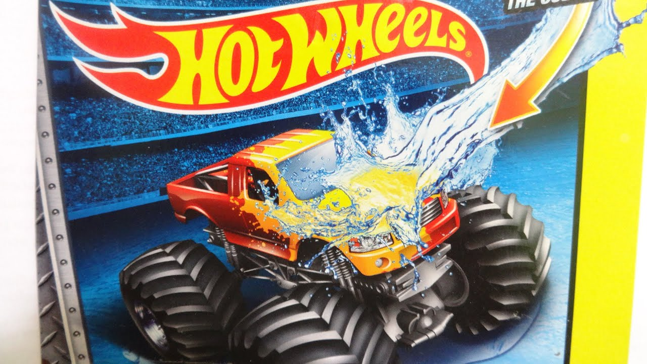 2014 HOTWHEELS MONSTER JAM COLOR SHIFTERS - YouTube