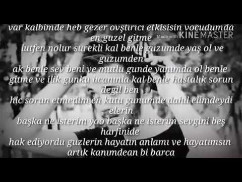 Emir Arslan Günaydın Sevgilim şiir 2017 Youtube