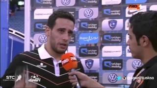 #دوري_بلس - محمد بن يطو بعد مباراة #الشباب و #الهلال في الجولة22 من #دوري_جميل : راضين بالتعادل !