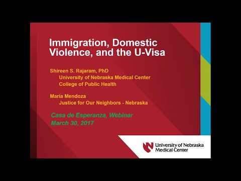 Immigration, Domestic Violence, and the U Visa (3/30/17)