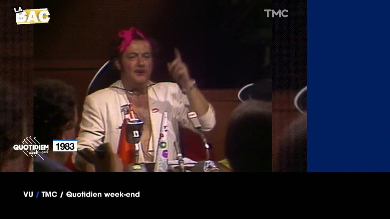 """VU du 19/06/21 - Coluche : """"Je vous crache au cul monsieur"""""""