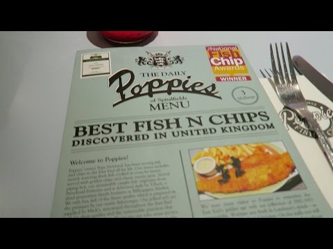 Poppies Fish And Chips - Best In London ? British + English Traditional Food