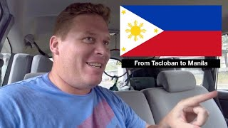 From Tacloban to Manila: A Tale of 2 Hotels and New Tires!