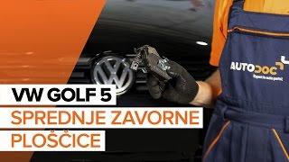 Odstraniti Zavorne Ploščice VW - video vodič