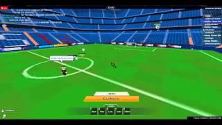 TPS Roblox Soccer Leauge Scrimmage Barcelona vs Swansea 1st half