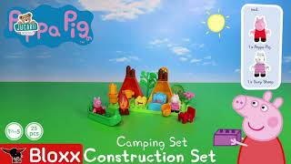 Joc de construit Peppa Pig Camping set PlayBIG Blo
