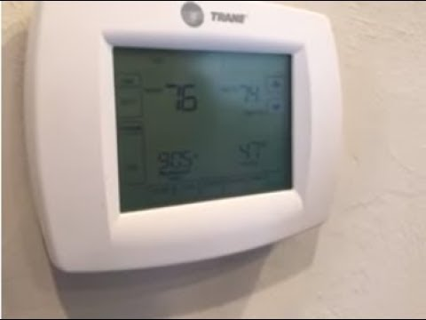 Trane Thermostat Questions Answers
