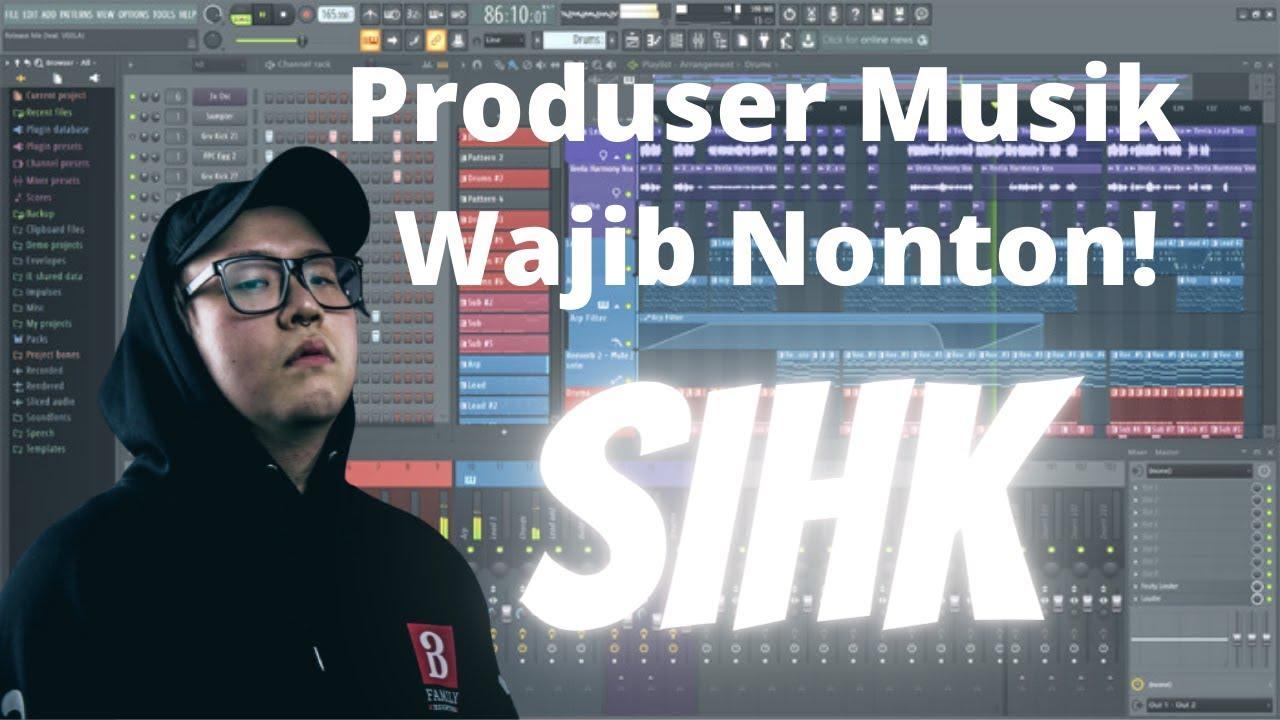Producer/DJ SIHK bocorkan Lagu Terbaru dan Memperlihatkan Alat yang Dipakai Saat Produksi Musik