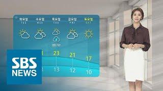 미세먼지 다시 말썽…수도권·충남, 종일 '나쁨' / SBS