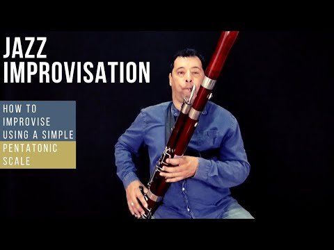 HOW TO IMPROVISE JAZZ - Free Lesson About Pentatonic Scales