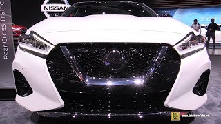 2019 Nissan Maxima Platinum - Exterior and Interior Walkaround - Debut at 2018 LA Auto Show