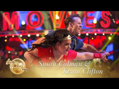 Susan Calman And Kevin Clifton Samba To 'Wonder Woman (Theme)' - Strictly Come Dancing 2017