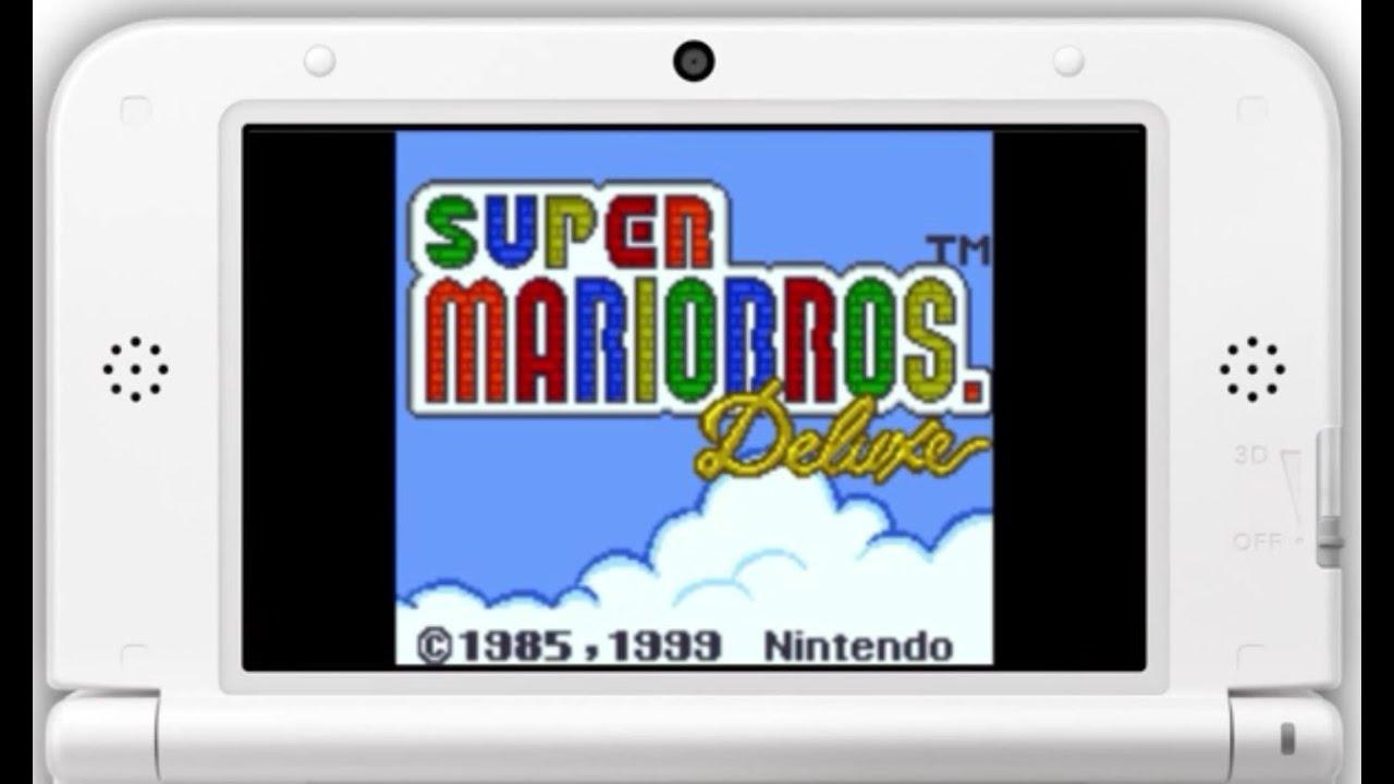 Game boy color super mario bros deluxe - Super Mario Bros Deluxe De Game Boy Color En Nintendo 3ds Virtual Console