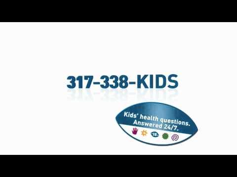 Healthcare Ad for St.Vincent Peyton Manning Children