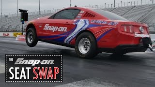 Snap-On Seat Swap Featuring Cruz Pedregon And Joey Logano