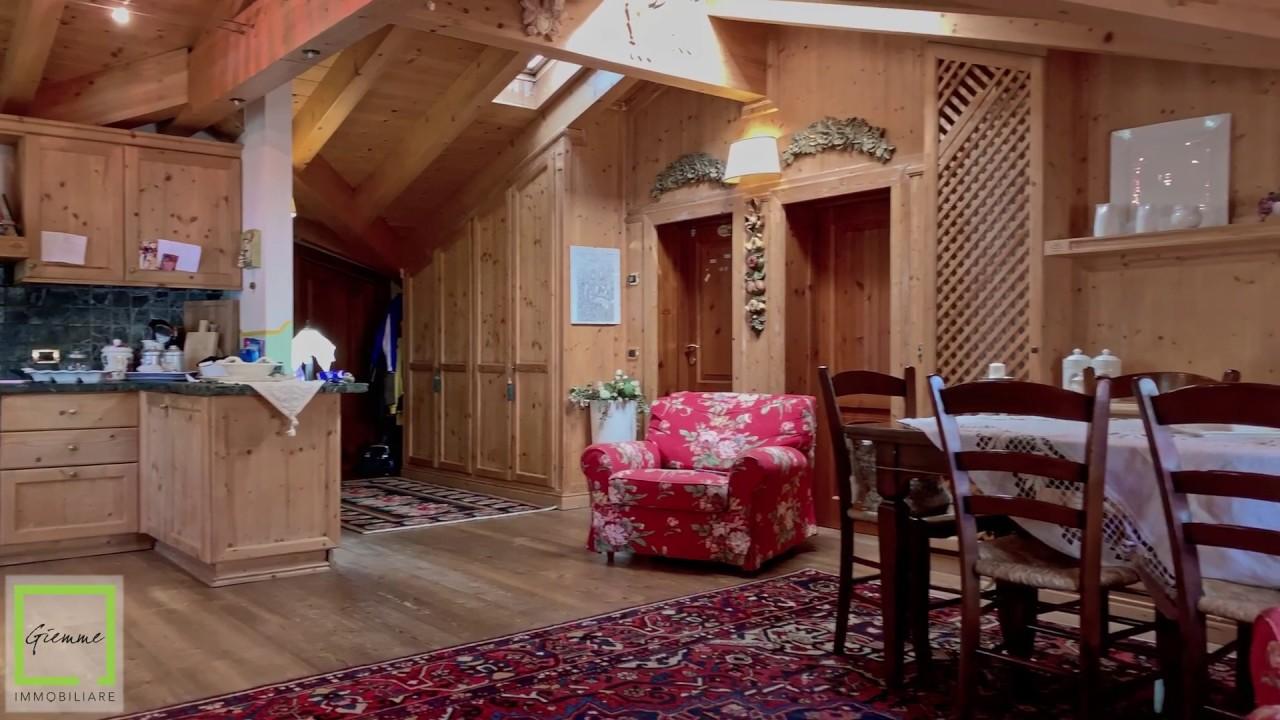 Una mansarda da sogno nelle Dolomiti - YouTube