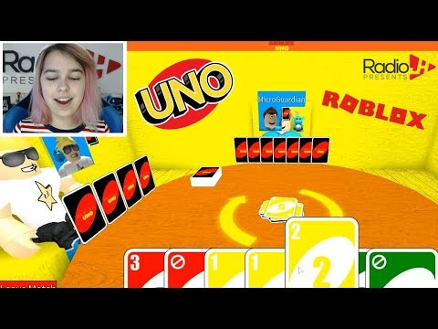Playing ROBLOX UNO With Chad & Ryan | RadioJH Games