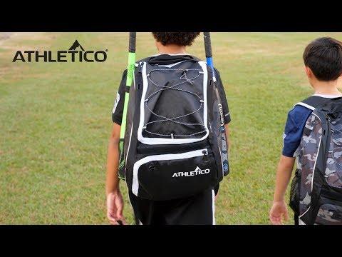 Athletico Baseball Bat Backpack - Baseball, T-Ball & Softball