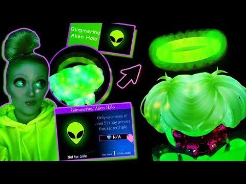 Area 51 Escapee Gets An Alien Halo Royale High Alien Invasion