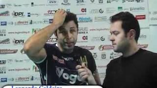05-02-2011: Intervista a Leonardo Caldeira nel post NewMater-Forlì
