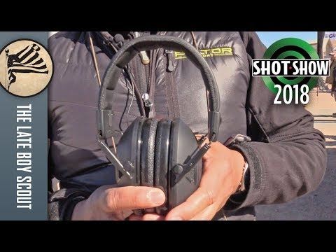 Peltor Hearing Protection: From A-to-Z - SHOT Show 2018