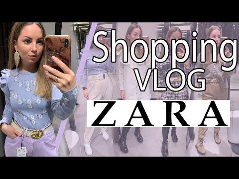 Шоппинг Влог ZARA Shopping Vlog Весенняя коллекция ZARA