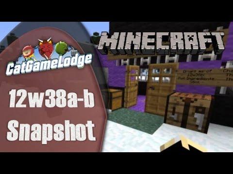 Minecraft: 12w38a-b Station Session!