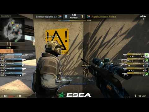 ESEA SA : Energy eSports vs Flipside Tactics SA