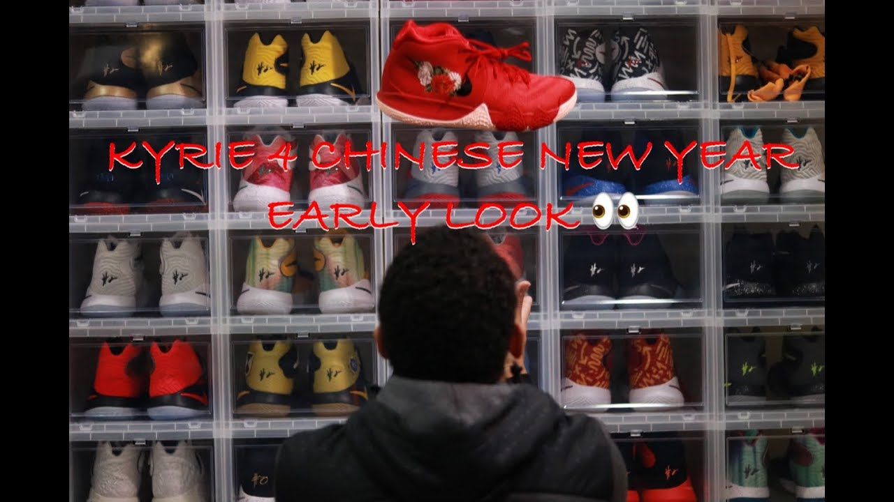 3f97538c5018 Kyrie 4 CNY ( Chinese New Year) EARLY LOOK - YouTube