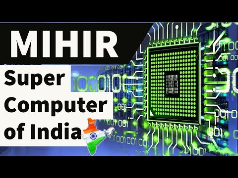 MIHIR Super Computer of India - High performance computer system - Current Affairs 2018 , Pratyush