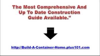 Build A Container Home Pdf - Build A Container Home Pdf