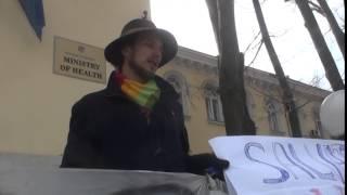 Am protestat iar la Ministerul Sănătății