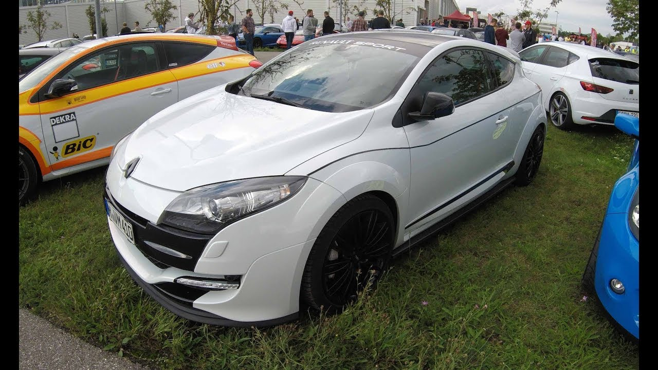 renault megane r s iii rs sport coupe white colour walkaround youtube. Black Bedroom Furniture Sets. Home Design Ideas