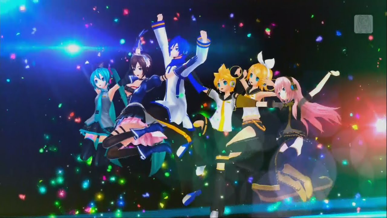 project diva f 2nd decorator with all vocaloids - Photo Decorator