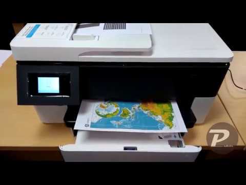 Preview And Setup The New Hp Officejet Pro 7720 Mfp Youtube