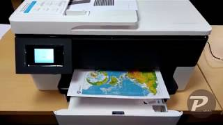Preview and Setup The New HP Officejet Pro 7720 MFP